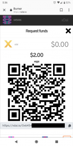 Mobile Burner Wallet